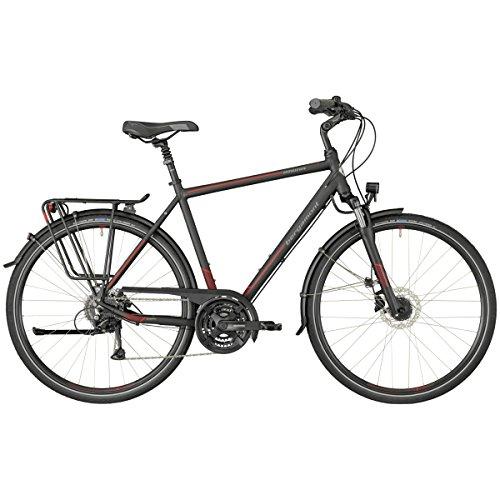 Bergamont Horizon 4.0 Herren Trekking Fahrrad schwarz/rot 2018: Größe: 48cm (164-170cm)