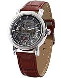 EASTPOLE Elegante Klassisch mechanische Handaufzug Herrenuhr Armbanduhr Uhr + EASTPOLE Geschenkbox PMW044