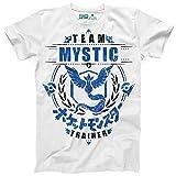Photo de Kanto Factory T-Shirt Pokémon GO Team Mystic/Sagesse, Equipe Bleu représenté par Artikodin/Articuno par Kanto Factory