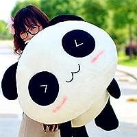 Steellwingsf Kawaii lindo peluche muñeca juguete animal gigante Panda almohada suave relleno Bolster regalo, ver