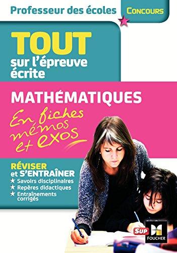 Concours Enseignement - Admissibilit - Franais et Maths en fiches mmos