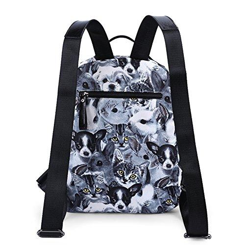 Borsa mini shoulder, borsa multiuso ,borsa per studenti-A A