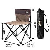 Outdoor Camping Tragbare Klapp Angeln Strandkorb Tragbare Rückenlehne Verstärkte Leichte Camping Picknick Rest Seat MHYC001 , medium (double caffeine)