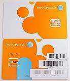 #10: AT&T 4488A Nano Sim Card