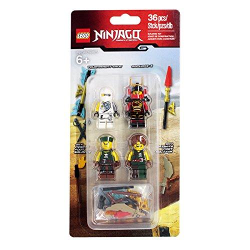 Lego Ninjago Battlepack Zubehör Figuren Set Zane Samurai X Sky (Ninja Kit Zubehör)