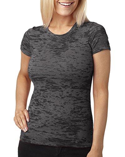 Next Level Damen T-Shirt Dunkelgrau