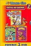 Coffret Festival des cartoons 3 DVD : Tom et Jerry, les Meilleures aventures autour du monde / Looney Tunes : Les Meilleures aventures - Vol.2 / Scoubidou : Les Contes des 1001 nuits [FR Import]
