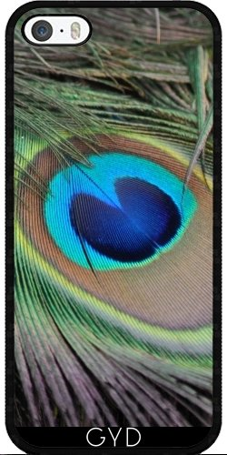 Coque pour Iphone SE - Peacock20160302 by JAMFoto Silicone