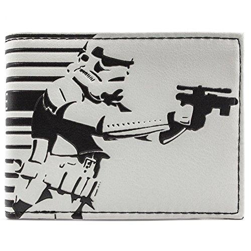 Star Wars Storm Trooper Weiß Portemonnaie Geldbörse (Dark Maul Kostüm Kinder)