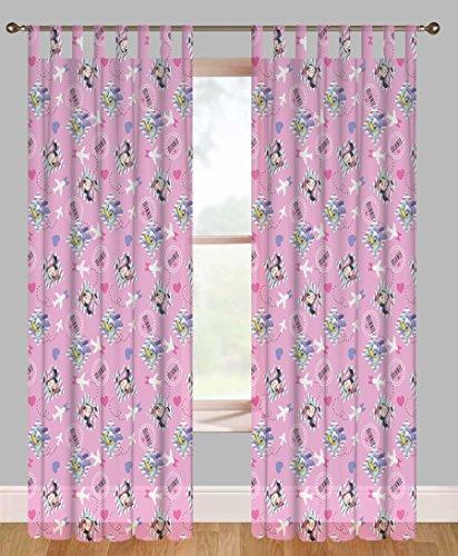 Disney minnie e paperina tenda cameretta in voile rosa