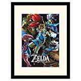 Zelda murale Divine Bestie 30x40cm