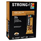 STRONG & KIND Protein Bars, Honey Mustar...