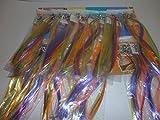Haarsträhnen/ Haarsträhnchen 24 Stück Bunt für Kinder