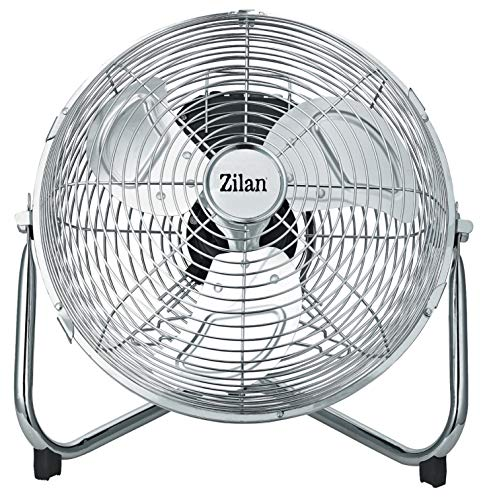 Produktbild Vollmetall Ventilator Ø 36cm / Power Windmaschine / Bodenventilator / 1.150 U. / min / Klimagerät / Luftkühler / Ventilator / Tischventilator / Standventilator / Wandventilator / 3 Stufen