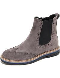 8523M beatles HOGAN JUNIOR scarpe bimbo polacco shoes kids boot grigio 0fdca4d9e24