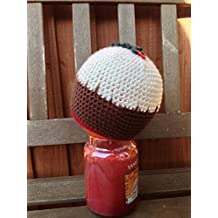 Crochet Christmas pudding hat - hand-made. Sizes 0-6 months to adult