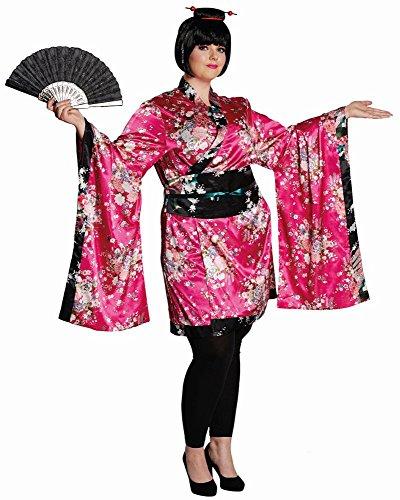 m Geisha Japanerin Asiatin Kimono Karneval Fasching Gr.42/44 ()