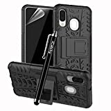 iCatchy For Galaxy A40 Case, Heavy Duty Hard Tough Dual
