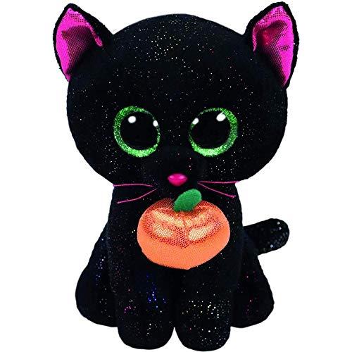 MYETO Plüschtier Halloween Katze Haus Plüsch Spielzeug Große Augen Niedlich, Plüsch Spielzeug Puppe Kreative Cartoon Plüsch Spielzeug Kinder 6