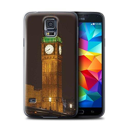 Stuff4® Hülle/Hülle für Samsung Galaxy S5 Mini/Big Ben Muster/London England Kollektion/von Matthew Pitcher/Awaken Images (Skin Galaxy S5 Für Active)
