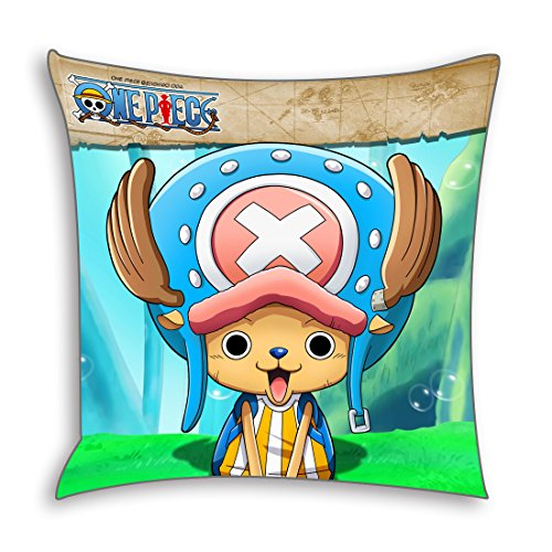 CoolChange One Piece Deko Kissenbezug 50x50cm, Motiv: Tony Chopper