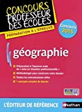 Géographie : Préparation à l'épreuve