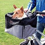 Fahrradkorb / Transporttasche für TIere, robust und stabil, aus Nylon, 7kg max. Kapazität