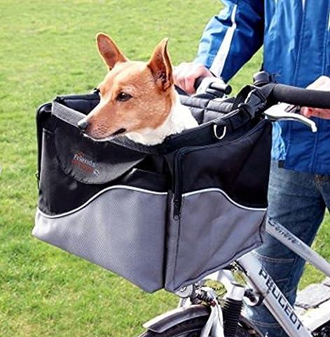 Panier pour vélo et transport en un–Robuste et stable–Fabriqué à partir de résistant, en nylon résistant–Capacité de charge 7kg
