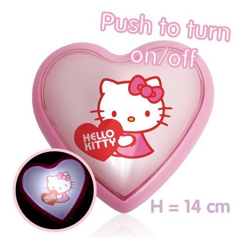 HELLO KITTY LAMPE VEILLEUSE LED ENFANT PLASTIQUE