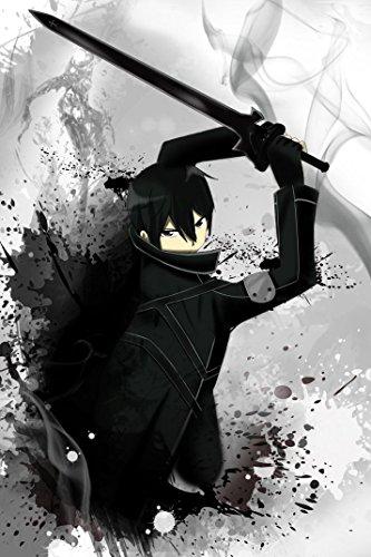 Sword Art Online Poster On Silk - Soie Affiche - 46F193