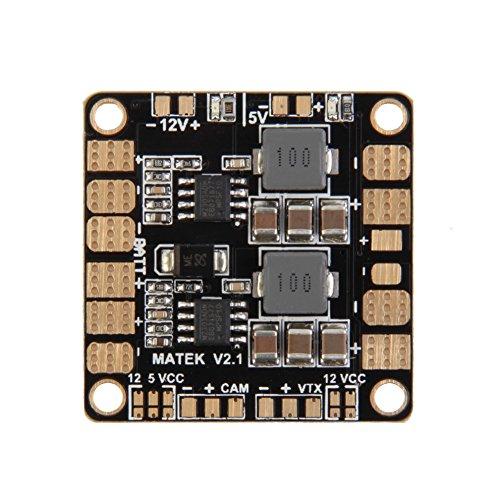 HSL Stromverteilungsplatine PDB 4-Layer PCB mit 2 BEC 5V 12V Fur FPV 250 Racer Mini Quadcopter Drone
