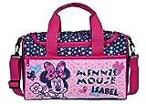 Sporttasche mit Namen | Bedrucken & Personalisieren | Minnie Mouse | Reisetasche | Kindertasche inkl. Namensdruck