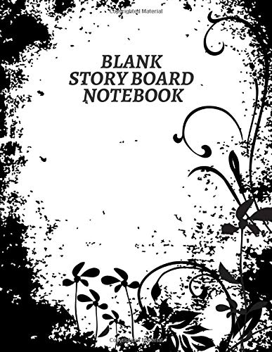 Blank Story Board Notebook: Large Film Making Notebook Journal Logbook Planner Notepad Clapperboard for Creative Storytelling Story Drawing. Gifts for ... Pages (Film Writing & Sketching Log, Band 7)