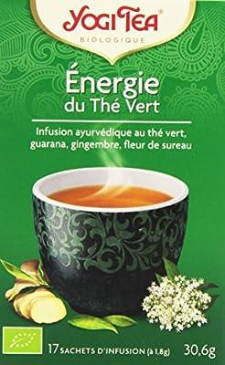 Yogi Tea Énergie du Thé Vert 17 Sachets