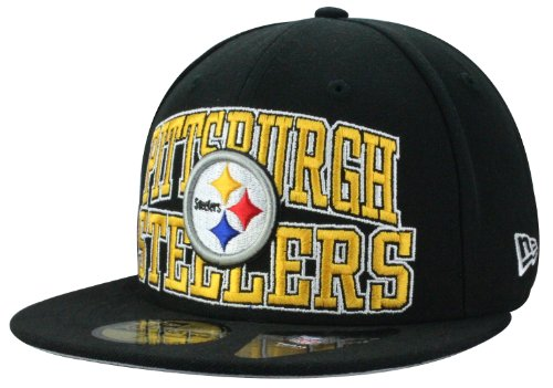 New Era Casquette Pittsburgh Pirates LOGO STACK ON NFL - Fitted