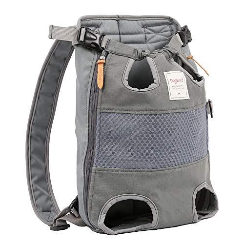 osmanthusFrag - Mochila de Transporte para Mascotas, Gatos, Perros, Cachorros, de Malla, Transpirable, para Viajes al Aire Libre