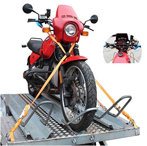 Lenker Verzurrsystem Spanngurt für Motorrad Bike Motorradspanngurt Zurrgurt Baumarktplus