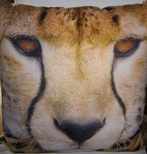 Gepard / Auf den ersten Blick ein wenig ungewöhnlich . Eine bequeme Alternative zum gewöhnlichen Kissen und auf jedem Sofa ein echter Hingucker . Ein echter Hingucker Maße ca. 45 x 45 cm ()