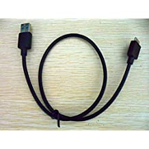 58CM USB3.0 Data Cable Cabo Lead Cord Line Wire para WD Western Digital My Passport Essential/Slim/Ultra/Edge Color Black