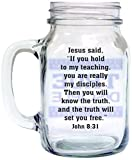 Divinity Boutique Old Fashioned Drinkin' Jar: Jesus said,