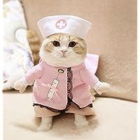 PvxgIo Disfraz de Mascota Convertido en Ropa para Gatos Talla 5
