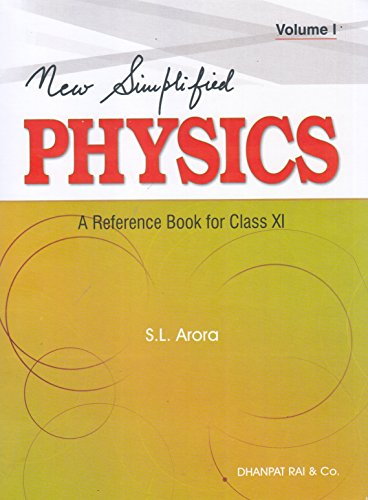 New-Simlified-Physics-A-Reference-Book-for-Class-11-Volume-I-II