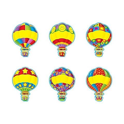 ARGUS Hot Air Balloon Classic Accents, 36/Pkg
