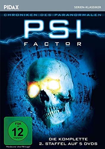 PSI Factor - Chroniken des Paranormalen, Staffel 2 / Weitere 22 Folgen der Mystery-Kultserie (Pidax Serien-Klassiker) [5 DVDs]