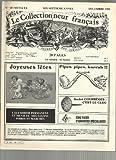 Le Collectionneur Français N° 185 : Pipes Anciennes - Collection De Clous (Andre Courrèges) -Turner En France,L'empire Des Abeilles -Monnaies Coloniales..