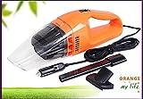 WHLXCQ Einfacher Fahrzeugreiniger 100W Fahrzeugstaubsauger Orange Handstaubsauger