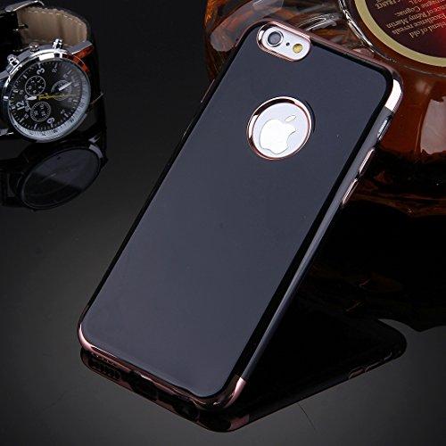 Phone case & Hülle Für iPhone 6 Plus / 6s Plus, Spiegel TPU Schutzhülle ( Color : Gold ) Rose gold
