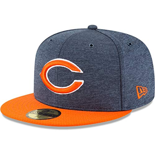 New Era NFL Chicago Bears Authentic 2018 Sideline 59FIFTY Home Cap, Größe :7 -