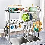 ZJF WDJ 304 Scaffale da Cucina in Acciaio Inox da Cucina. (Dimensioni : 95 * 28 * 82cm)