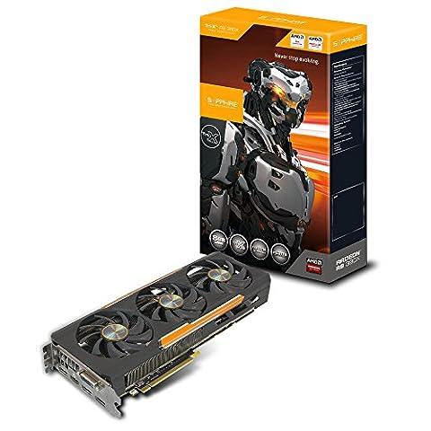 Sapphire R9 390X 8G GDDR5 PCI-E TRI-X OC Carte graphique AMD Radeon 1055 MHz 8192 Mo PCI-Express